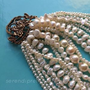 STEPHEN DWECK Pearl Bracelet RARE